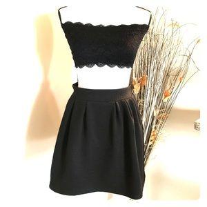 Candie's Black Dress Skirt Juniors Size 5